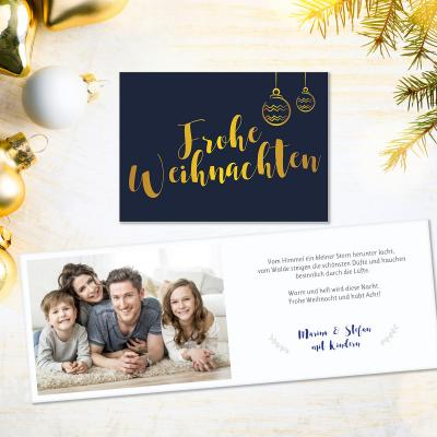 Happy new Letter | Weihnachtskarte