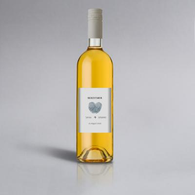 Fingerprint | Weinlabel