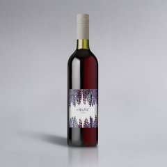 Purple Dream | Weinlabel Hochformat