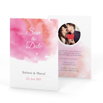 Watercolor | Save the Date
