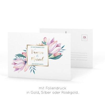 Karten Mit Heissfolienpragung In Gold Silber Und Rosegold