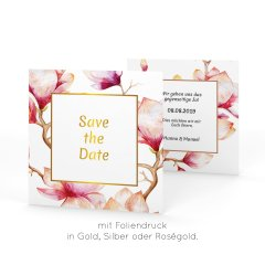 Cataleya | Save the Date - quadratisch klein