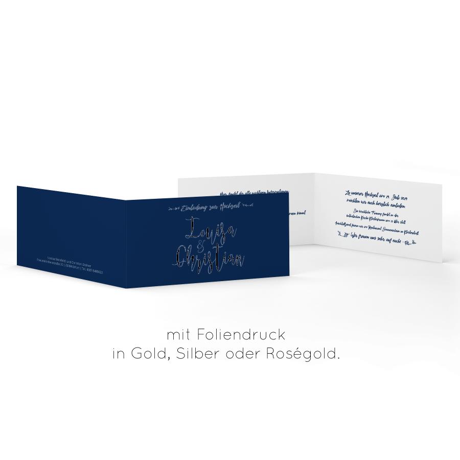 Gutschein für jeden Anlass 100 Stück DIN Lang Gold