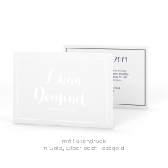 Kalligraphie | Save the Date - Karte