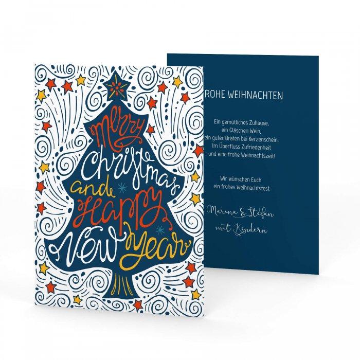 Postkarte Hochformat
