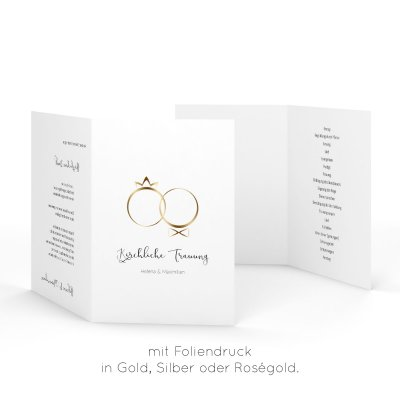 Rings of Love | Kirchenheft