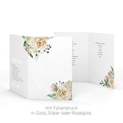 Rose Bianco | Kirchenheft