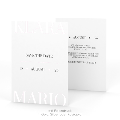 Trend | Save the Date
